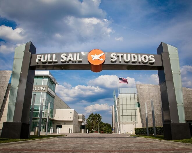 Full Sail - online art degree