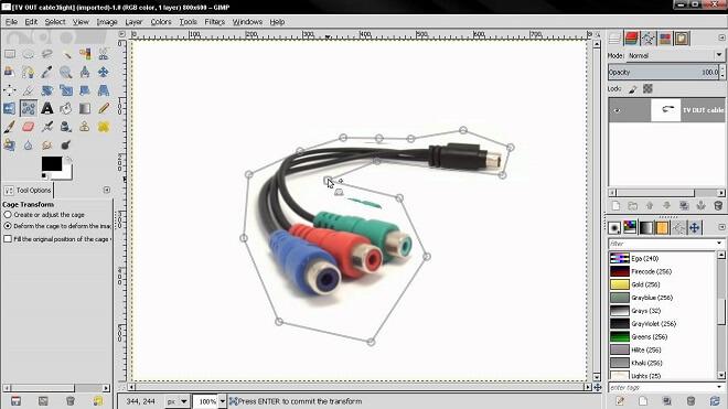 Gimp Transform Tools