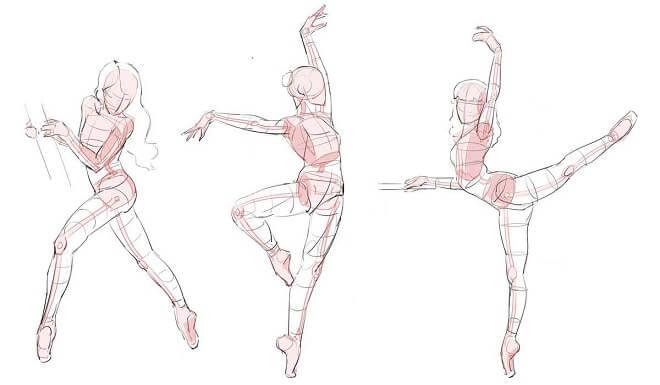 Anime - Ballet Pose