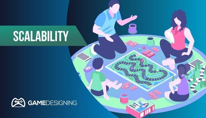 Board game design - scalability