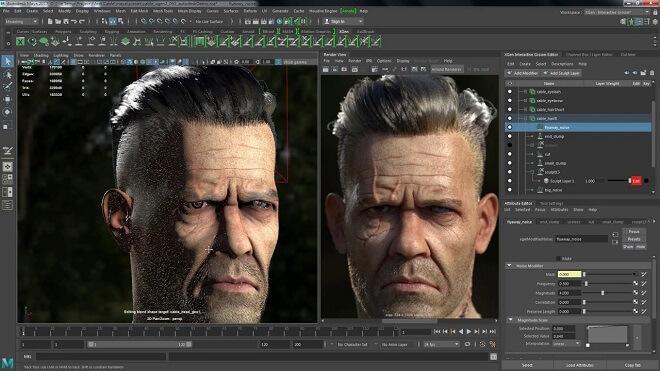 VFX Software - Autodesk Maya