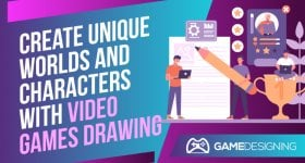 Video Games Drawing