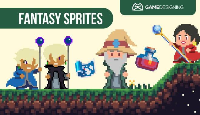 Game assets - fantasy sprites