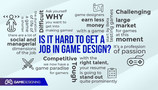 How to get a job in game design