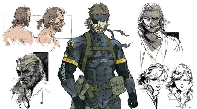 Metal Gear Solid drawing