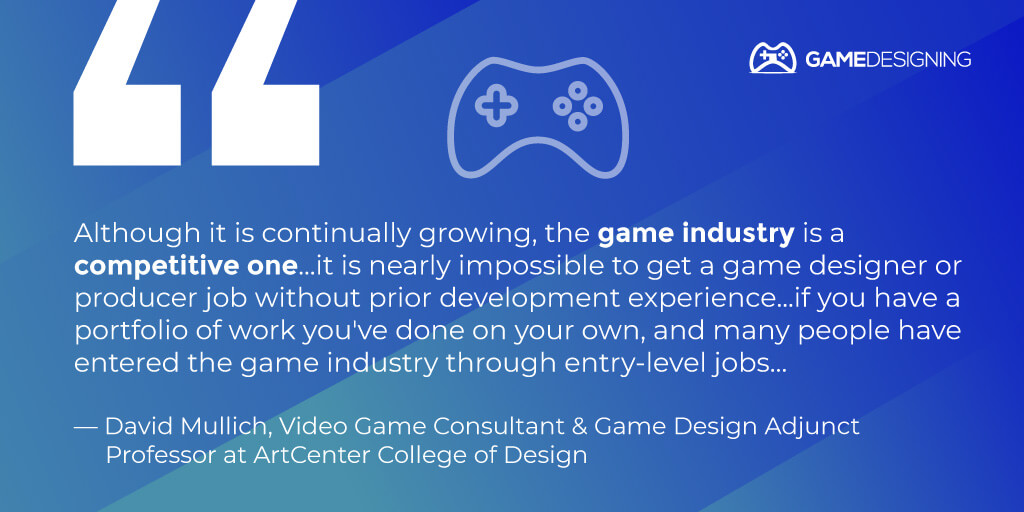 Gaming expert tip - David Mullich