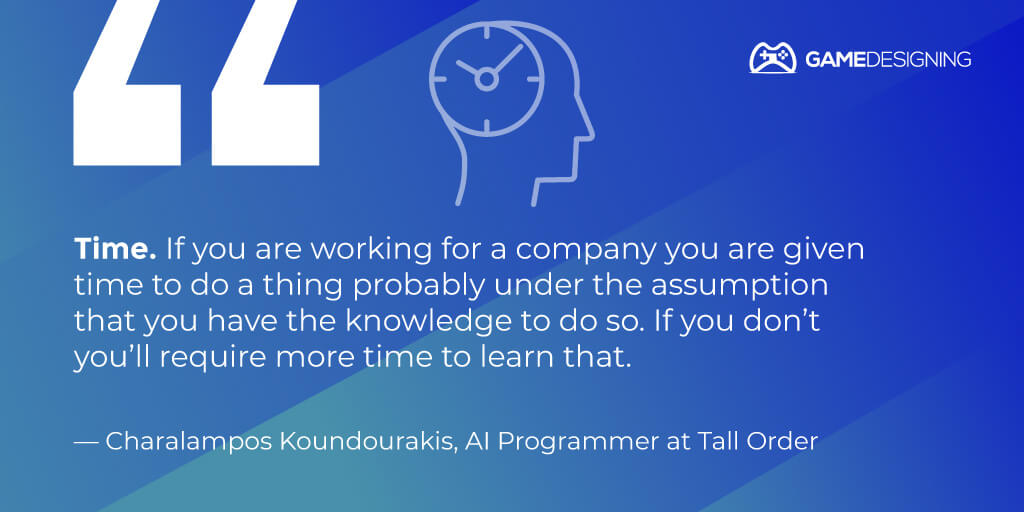 Gaming expert tip - Charalampos Koundourakis