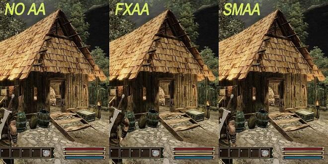 SMAA vs FXAA