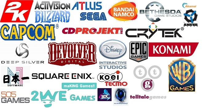 Publishers in the video game industry