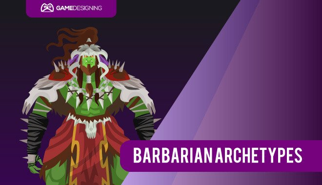 RPG Class Archetype - Barbarian