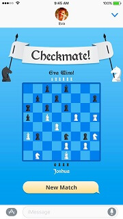 iMessage Game - Checkmate!