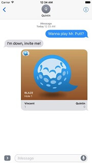 iMessage Game - Mr. Putt