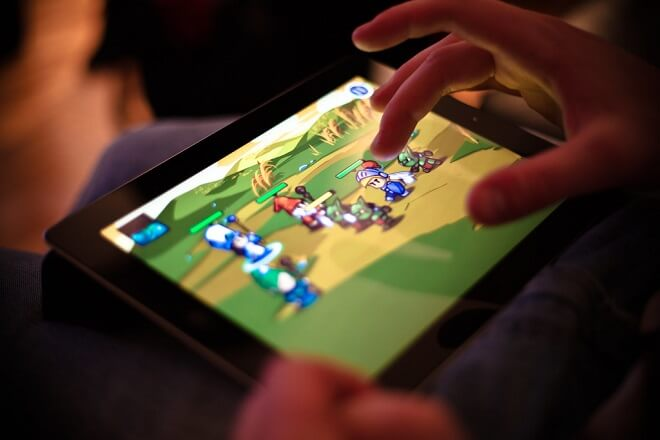 Games played on smartphones and tablets