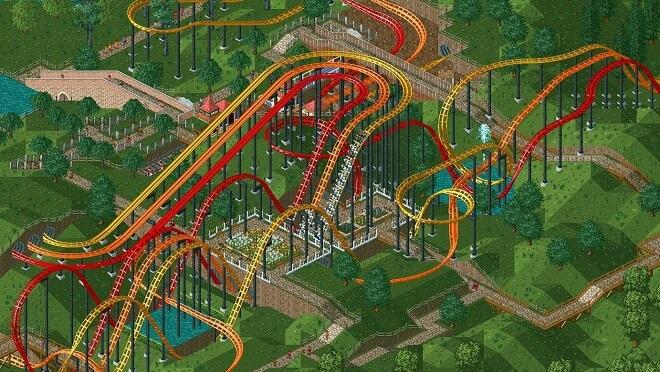 Procedural Rhetoric - Roller Coaster Tycoon