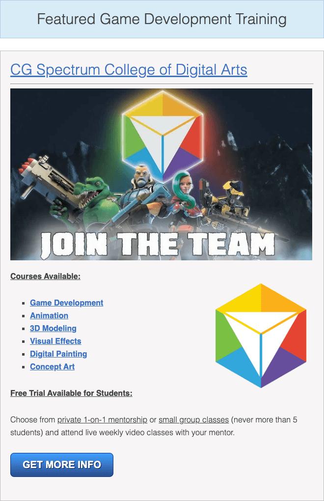 careers in game development