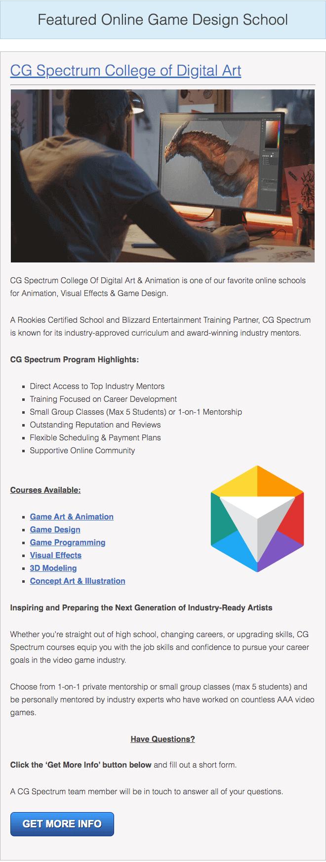 excellent animation college programs